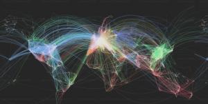 Existenzgründung und sebständig machen Franchise Expansion anhand vom Flight Tracker